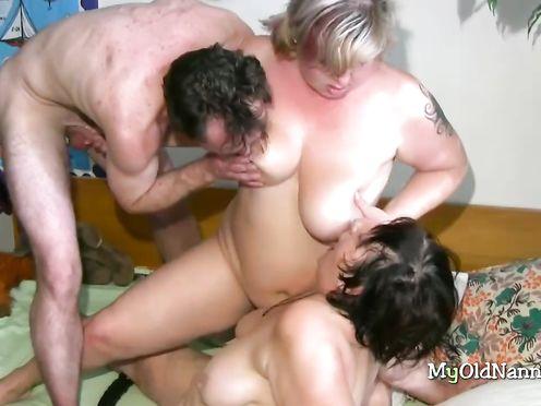 Групповой инцест бабушки, матери и сына